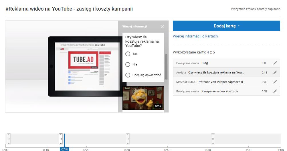 Ankieta na YouTube